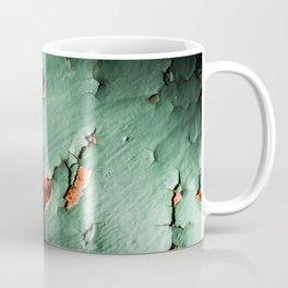 Cool turquoise brown rusty metal Coffee Mug