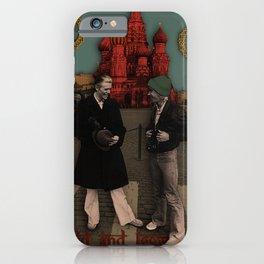 David and Iggy iPhone Case