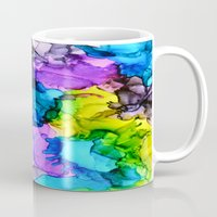 mermaids Mugs featuring Mermaids by Claire Day