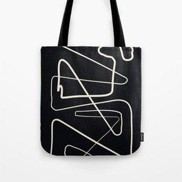 Movements Black Tote Bag