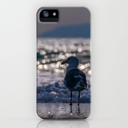 Afternoon Seagull iPhone Case