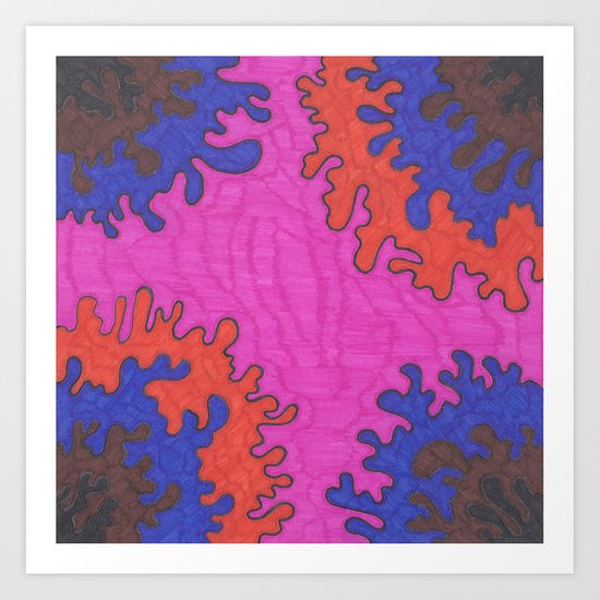 Instillation 15 Art Print