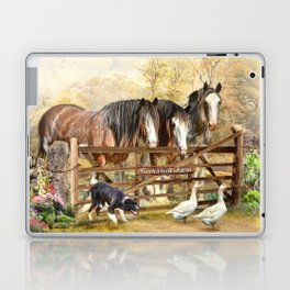 Featherwell Farm Laptop & iPad Skin