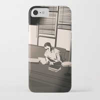 the office iPhone & iPod Cases featuring Quill's Office by Andrew Formosa