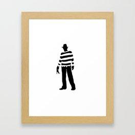 Freddy Krueger Framed Art Print