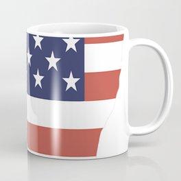 American-Eskimo-tshirt,-patriotic-American-Eskimo Coffee Mug