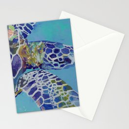 Honu Kauai Sea Turtle Stationery Cards