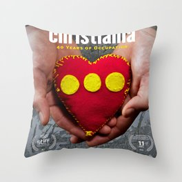 Christiania - 40 Years of Occupation Throw Pillow