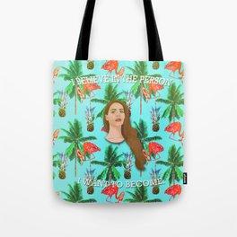 Lana Del Tropico Tote Bag