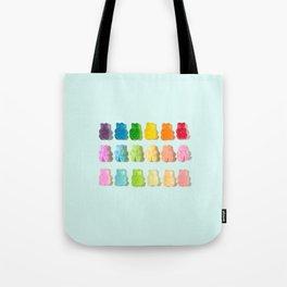 Gummi Bear Rainbow Tote Bag