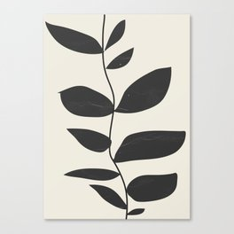 minimal plant Canvas Print
