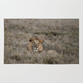 The Lion Is King Rug
