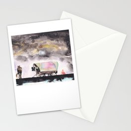Rising stars above Stationery Cards