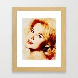 Carrol Baker, Hollywood Legend Framed Art Print