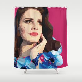 Del rey Shower Curtain