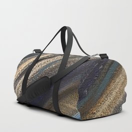 Dark Brushstrokes Painting Duffle Bag