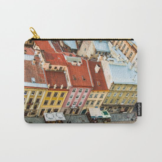 the rooftops of the city Carry-All Pouch