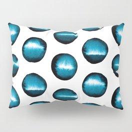 Divine teal dots Pillow Sham