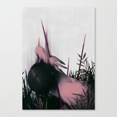 Between Rivers, Rilken No.4 Canvas Print