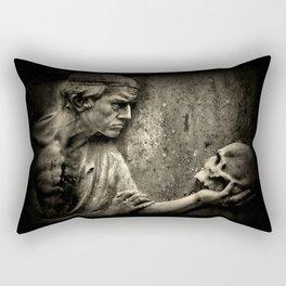 The Doctors Grave Rectangular Pillow