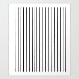 Strips 1-line,band,striped,zebra,tira,linea,rayas,rasguno,rayado. Art Print