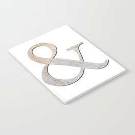 French Ampersand Notebook