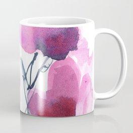 Pink Heart Petals Coffee Mug