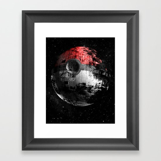 Poked to Death 3D Framed Art Print
