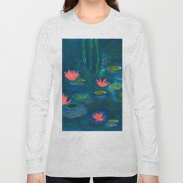 The Water Lilies Long Sleeve T-shirt