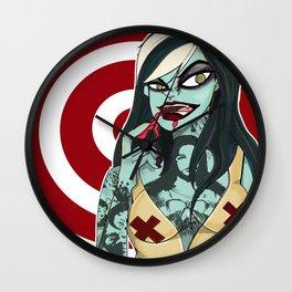 Vampire Girl Wall Clock
