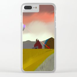 Alien Scoutin Clear iPhone Case