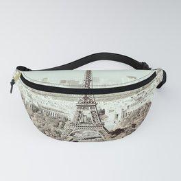Vintage Paris Fanny Pack