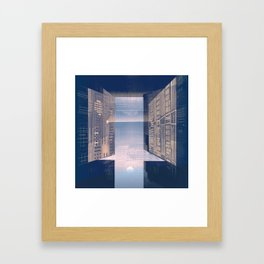 Room -A- Post Biological Era Framed Art Print