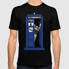 Dr. Dalek Mens Fitted Tee Black X-LARGE