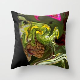 Exotic Emily Throw Pillow