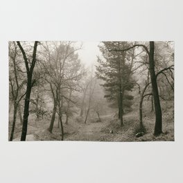 """""""Forest arms"""". Into the woods Rug"""