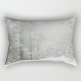 Down the Summit Rectangular Pillow