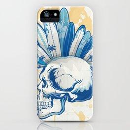 surfer skull iPhone Case