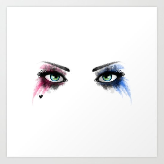 Look of Madness Art Print