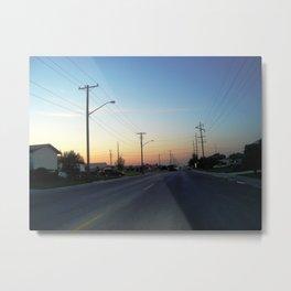 erindale, saskatoon, saskatchewan, canada Metal Print