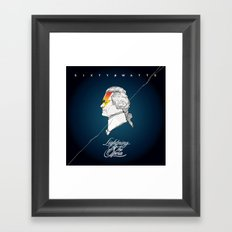 Lightning At The Opera Framed Art Print