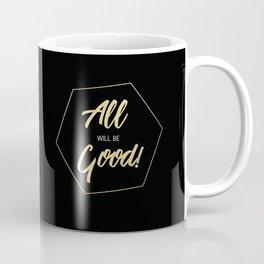 Inspiring Gift Ideas for Entrepreneurs #5 - Gold on Black Coffee Mug