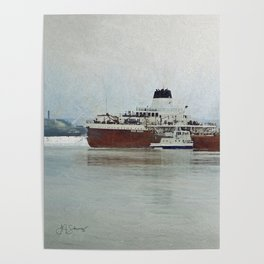 Roger Blough and Ojibway Poster