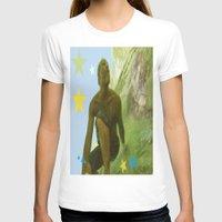 renaissance T-shirts featuring Surfing Renaissance  by David Stone
