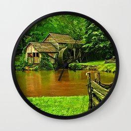 Mabrys Mill Wall Clock
