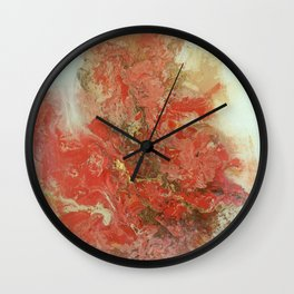 scattered thought Wall Clock