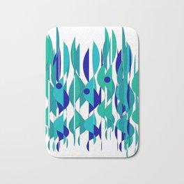 Abstrakt Flames Bath Mat