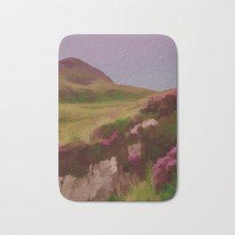 Connemara Ireland Travel Poster Vintage Style Bath Mat