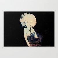 et Canvas Prints featuring ET by  Maʁϟ