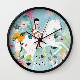 Storybook Horse Wall Clock